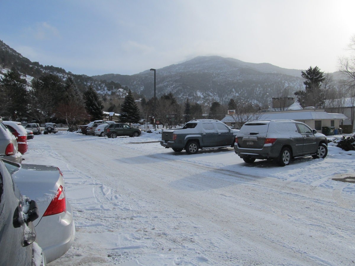 Glenwood Springs Snow