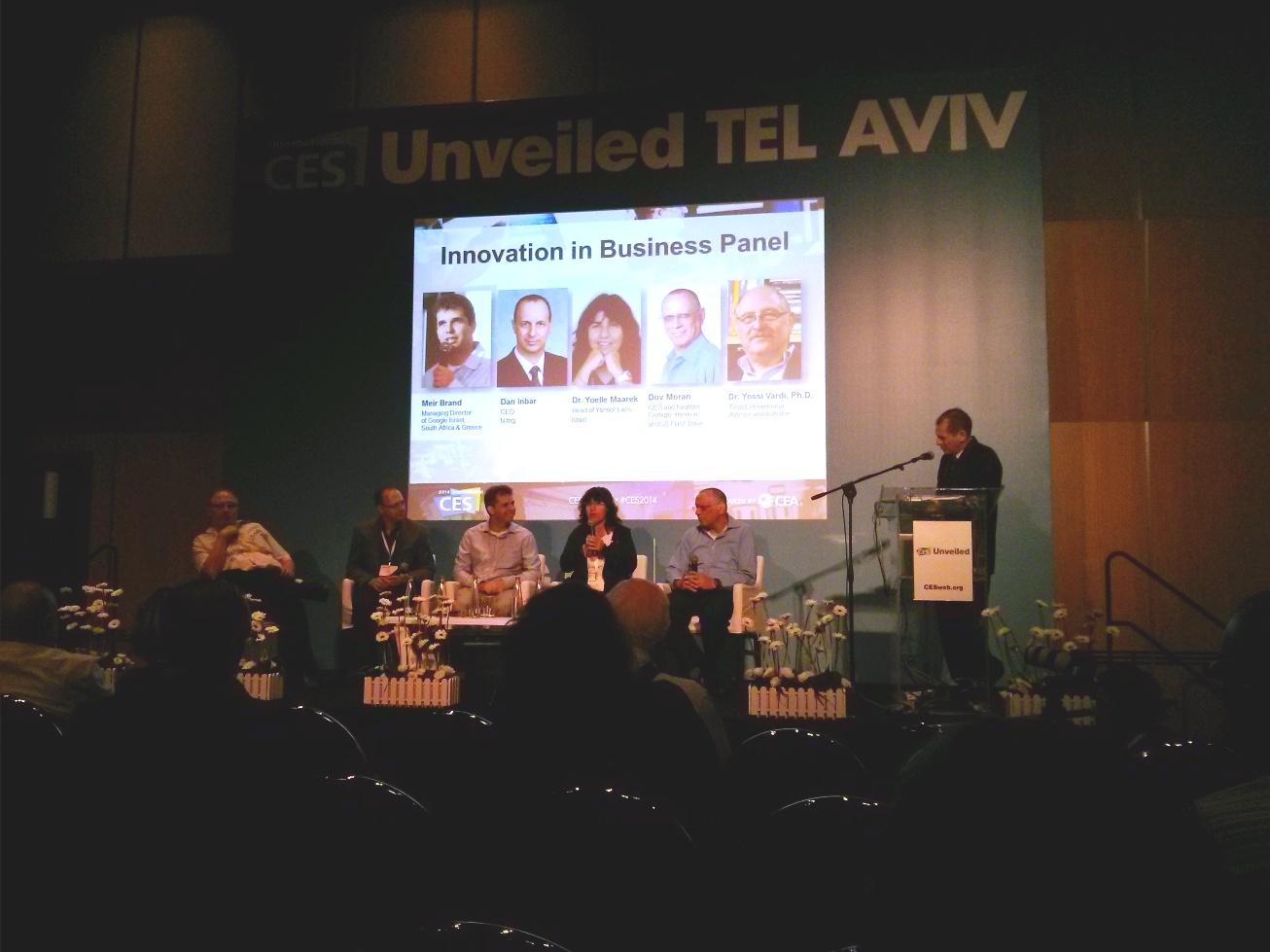 CES Tel Aviv Panel