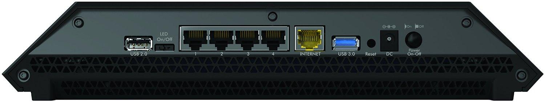 Netgear R8000 Back